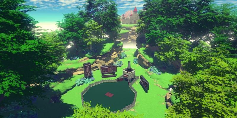 Cloudlands: VR Minigolf