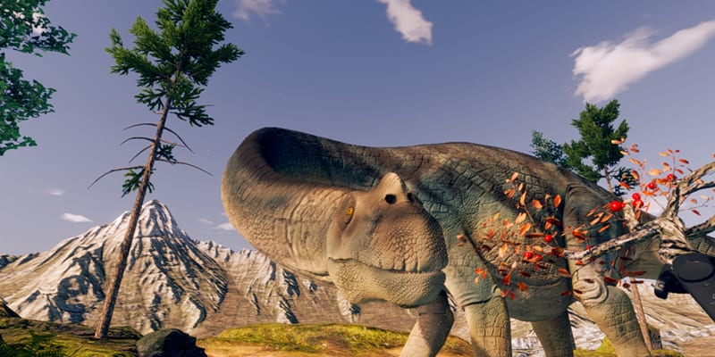 Feed a Titanosaur