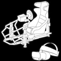 Simulatore di guida VR VRUMS